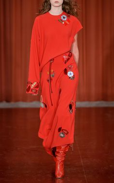 Cassia Embroidered Dress by ROKSANDA for Preorder on Moda Operandi