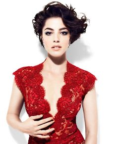 Red lace dress..yes!  I