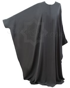 Essential Bisht Abaya (Dark Grey) by Sunnah Style #SunnahStyle #abayastyle #bisht #IslamicClothing