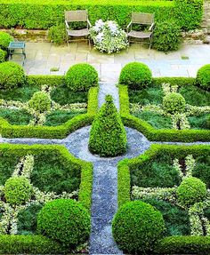 Formal French Garden Inspirations Curated by ELIOT RAFFIT The Fashioner of Romance