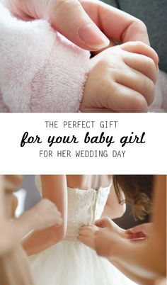 """Little Girl Christmas/Wedding Day Gift: """"The day my daughter was born, my mom brought an add-a-pearl necklace to the hospital. On the day of her wedding, I hope the necklace tells a story of all the people who have loved her over the course of her childhood."""" *Have you heard of this tradition? So sweet."""