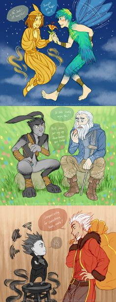 ROTG - Power Swap by piku-chan.deviantart.com on @deviantART YYYAAAYYY!!!! :D i so wanna draw genderbent rise of the guardians now