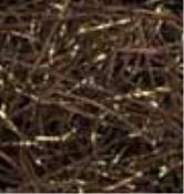 Chocolate VeryFine Cut Golden Blends Shred perfect for Fall packaging or decorations!