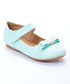 Look at this #zulilyfind! Kelly Kids Mint Kiki Mary Jane by Kelly Kids #zulilyfinds