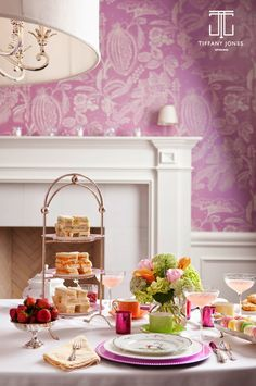 Tiffany Jones Interiors : The Lost Art of Taking Tea. Tea is for mans Tiffany Jones, Party Like Gatsby, Table Top Design, Afternoon Tea Parties, Tea Art, Lost Art, Color Of The Year, Pantone Color, House Colors