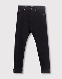 Pull&Bear - homem - vestuário - jeans - calças de ganga skinny fit - azul escuro - 05684509-I2016