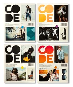 Code Magazine is a platform for documentary fashion photography. Fashion photography with real people wearing authentic styles.  by Studio Beige