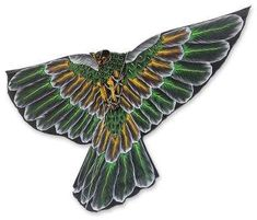 Novica Handmade Nylon Bird Kite