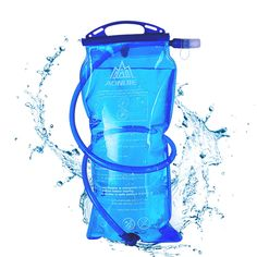 AONIJIE 1.5//2//3L TPU Hydration Water Bladder Bag Sports Camping Hiking Cycling