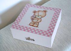 Pudełko dla dziewczynki w White Blue na DaWanda.com