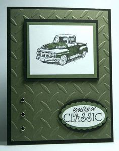 ~*You're A Classic*~ Father's Day card by airbornewife - Cards and Paper Crafts at Splitcoaststampers