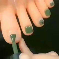 Asian Nails, Halloween Acrylic Nails, Nagellack Design, Minimalist Nails, Funky Nails, Dream Nails, Pink Nail Art, Dot Nail Art, Nagel Gel