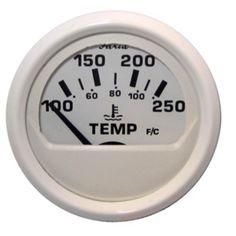 Faria Dress White 2 Water Temperature Guage (100-250°F)