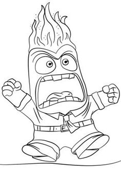 Inside Out Anger coloring page from Inside Out category. Select from 24848 print… Inside Out Anger coloring page from Inside Out category. Select from 24848 printable crafts of cartoons, nature, animals, Bible and many more. Inside Out Coloring Pages, Shape Coloring Pages, Lego Coloring Pages, Barbie Coloring Pages, Abstract Coloring Pages, Disney Princess Coloring Pages, Mandala Coloring Pages, Animal Coloring Pages, Coloring Pages For Kids
