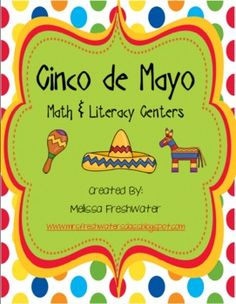 Ole!!! I wanted to create a festive unit for Cinco de Mayo. I had a lot of fun creating this unit filled with 14 different activities to help you c...
