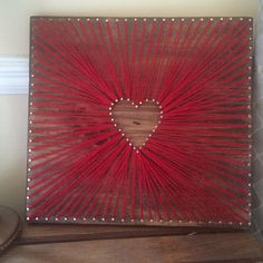 Check out this item in my Etsy shop https://www.etsy.com/listing/292938505/heart-string-art