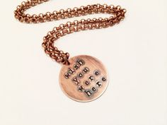 Pink Floyd Wish You Were Here Necklace Hand by MallEadornments