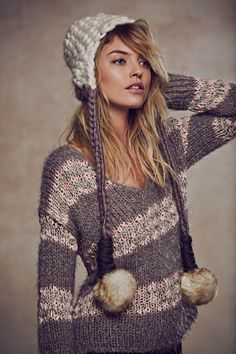free people holiday4 Martha Hunt Charms in Free Peoples Holiday 2013 Shoot