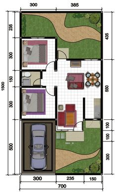 Facade House, House Roof, Model House Plan, House Plans, Door Design Interior, House Blueprints, Small House Design, Minimalist Home, Tiny House