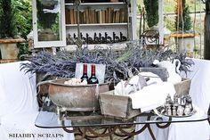 display . barn house flea market . shabbyscraps . via Flickr