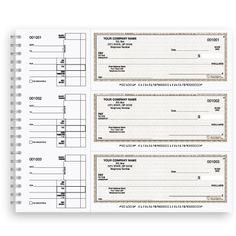 DFC-122, Wire Bound General Expense Checks