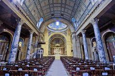 The Oratory of Saint Philip church located in Birmingham, England, UK.
