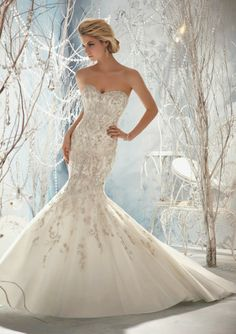 Fenomenales vestidos de novia | Colección Mori lee 2014