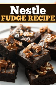 This Nestle fudge recipe is the perfect holiday treat! Learn how to make this easy dessert, plus get tips for making the best fudge. Fudge Recipes, Microwave Peanut Butter Fudge, Peanut Butter Chips, Fantasy Fudge Recipe, Cracker Barrel Meatloaf, Quick Easy Dinner, Cookie Crumbs, Holiday Treats