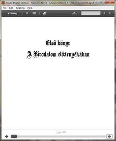 Az első könyv címoldala #aholdsarlofenye.hu #regény #könyv  #ekönyv #ebook #holdsarló #fénye #teljes #történet #robert #locksmith Reading Help, Math Equations, Digital