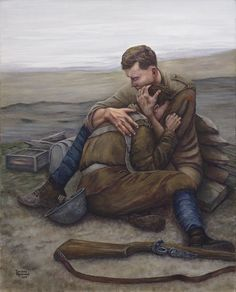 God Guard Thee, a limited edition print dedicated to the Newfoundland Regiment, by Newfoundland artist Darlene Redmond Battle Of The Somme, Armistice Day, Newfoundland And Labrador, Lest We Forget, Remembrance Day, Illustrations, Pics Art, Various Artists, Vintage Love