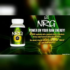 NRG is an all-natural formula designed to give you the results you're looking for - without the jitters or sudden burnout you can expect from other products. ✔ Enhance Energy ✔ Burn Fat ✔ Elevate Your Mood.  #NRG #iaso #AllNatural