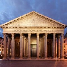 Pantheon,Rome, Italy (constructed 126 AD)