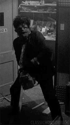 The #Leatherface boogey.