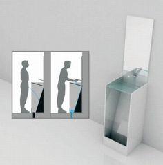 l'urinoir de duchamp c'est bien mais le lavabo-pissotière lui est écologique