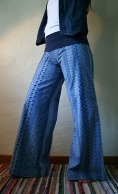 Blue soft bell bottom trousers in 100 cotton by funkyBINTA on Etsy, $38.00 Girly Stuff, Girly Things, Bell Bottom Trousers, Fashion Ideas, Fashion Inspiration, Girly Outfits, African Fashion, Afro, Indigo