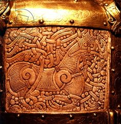 Detail of the Cammin Casket, Mammen Style, 1000 AD