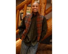 Men's SK Outfitter Vest new from Stormy Kromer.  In Adirondack, Charcoal and Partridge Plaid.