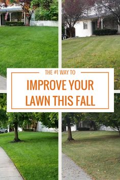 Fertilizing in the fall helps improve the soil, while providing needed nutrients. Learn how to keep your lawn looking healthy as the seasons change.