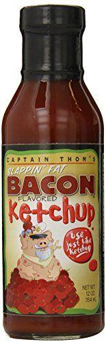Baron Captain Thom's Slappin Fat Bacon Ketchup, 12 Ounce Baron http://smile.amazon.com/dp/B004ROVDVA/ref=cm_sw_r_pi_dp_fkSrub1QJ6CZW