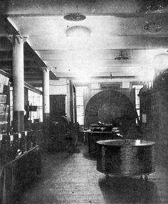 Tesla's old laboratory