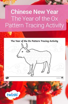 Explore the meaning of Chinese New Year in a fun and engaging way with these pattern tracing activity sheets. Great for both at home and in the classroom, this themed activity will help to develop your child's fine motor skills! Click to download. #patterntracing #finemotor #finemotorskills #eyfs #ks1 #primaryschool #chinesenewyear #yearoftheox #cny #remotelearning #teaching #teachingresources #twinkl #twinklresources #parents #homeschooling #homeeducation Tracing Sheets, Activity Sheets, Eyfs, Chinese New Year, Primary School, Fine Motor Skills, Ox, Teaching Resources, Festivals