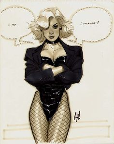 Black Canary by Adam Hughes Comic Art