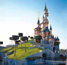 Castillo de Disneyland París