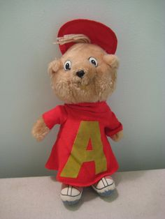 Vintage Alvin Plush Doll. Still have him, though mine looks ROUGH compared to this one!