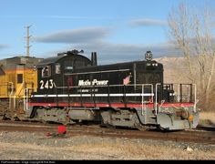 RailPictures.Net Photo: MPEX 243 Motive Power Industries EMD SW1 at Boise, Idaho by Rob Boes