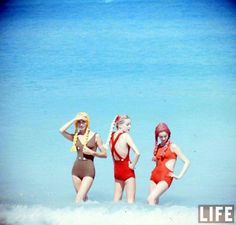 Beach Fashions, Havana, Cuba, 1958