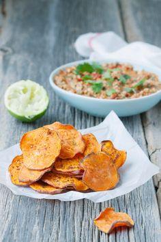 ... | Potato Fry, Zucchini Parmesan Crisps and Roasted Sweet Potatoes