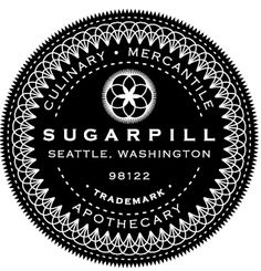 Beautifully executed intricate logo for Sugarpill