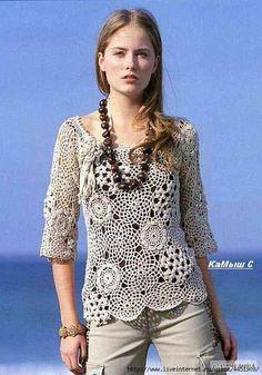 Blusita crochet