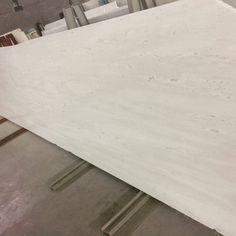 White Velvet slab honed finish